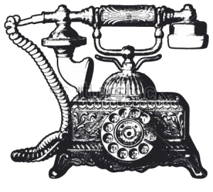 stock-vector-old-telephone-116983510