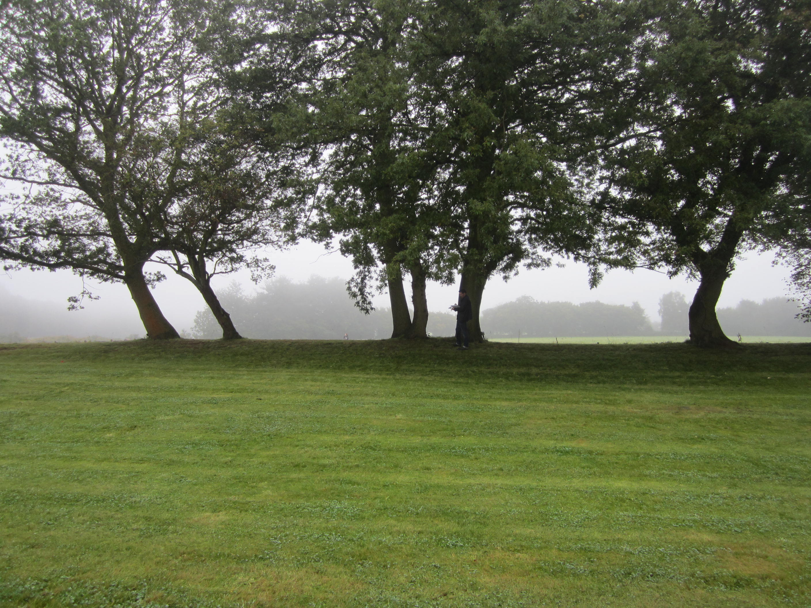 Existing View of Games Lawn